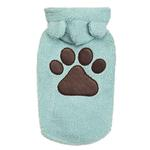 View Image 1 of Zack and Zoey Elements Cuddle Bear Dog Jacket - Blue