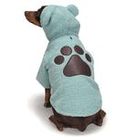 View Image 3 of Zack and Zoey Elements Cuddle Bear Dog Jacket - Blue