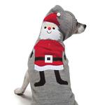 View Image 4 of Zack and Zoey Elements Holiday Santa Dog Sweater