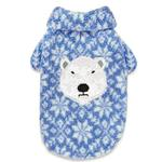 View Image 1 of Zack and Zoey Elements Polar Bear Berber Dog Jacket