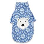 View Image 3 of Zack and Zoey Elements Polar Bear Berber Dog Jacket