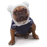View Image 3 of Zack and Zoey Elements Polar Bear Hooded Dog Sweater