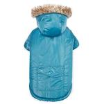 View Image 2 of Zack and Zoey Elements Reversible Thermal Dog Parka - Blue