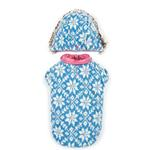 View Image 4 of Zack and Zoey Elements Reversible Thermal Dog Parka - Pink
