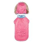 View Image 3 of Zack and Zoey Elements Reversible Thermal Dog Parka - Pink