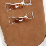 View Image 4 of Zack and Zoey Elements Shearling Dog Coat - Chestnut
