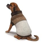 View Image 1 of Zack and Zoey Fair Isle Aberdeen Dog Sweater