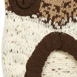 View Image 4 of Zack and Zoey Fair Isle Aberdeen Dog Sweater