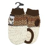 View Image 2 of Zack and Zoey Fair Isle Aberdeen Dog Sweater