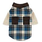View Image 1 of Zack and Zoey Flannel Shirt Dog Shirt/Jacket