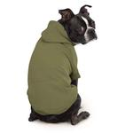 View Image 2 of Zack and Zoey Forest Friends Reversible Dog Hoodie - Green