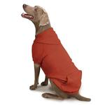 View Image 2 of Zack and Zoey Forest Friends Reversible Dog Hoodie - Orange
