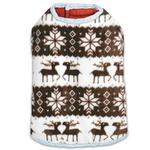 View Image 4 of Zack and Zoey Forest Friends Reversible Thermal Nor'Easter Dog Coat