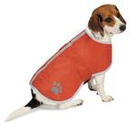 View Image 1 of Zack and Zoey Forest Friends Reversible Thermal Nor'Easter Dog Coat