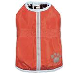 View Image 3 of Zack and Zoey Forest Friends Reversible Thermal Nor'Easter Dog Coat