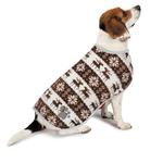 View Image 2 of Zack and Zoey Forest Friends Reversible Thermal Nor'Easter Dog Coat