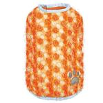 View Image 2 of Zack and Zoey Hairy Yarn Reversible Thermal Nor'Easter Dog Coat - Orange