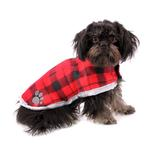 View Image 2 of Zack and Zoey Nor'easter Dog Blanket Coat - Black