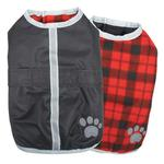 View Image 1 of Zack and Zoey Nor'easter Dog Blanket Coat - Black