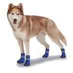 View Image 3 of Zack and Zoey ThermaPet Neoprene Dog Boots - Blue
