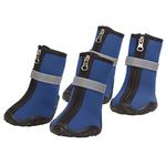View Image 1 of Zack and Zoey ThermaPet Neoprene Dog Boots - Blue