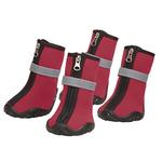 View Image 1 of Zack and Zoey ThermaPet Neoprene Dog Boots - Red