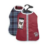 View Image 4 of Zack and Zoey ThermaPet Nor'Easter Dog Coat - Burgundy