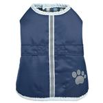View Image 1 of Zack and Zoey ThermaPet Nor'Easter Dog Coat - Navy