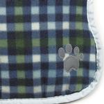 View Image 2 of Zack and Zoey ThermaPet Nor'Easter Dog Coat - Navy
