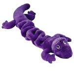 View Image 1 of Zanies Bungee Geckos Dog Toy - Purple