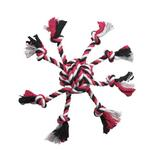 View Image 1 of Zanies Crazy Eight Rope Dog Toy - Pink