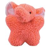 View Image 1 of Zanies Cuddly Berber Babies Dog Toy - Pink Elephant