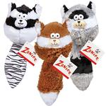 View Image 3 of Zanies Funny Furry Fatties Dog Toy - Raccoon