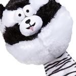 View Image 2 of Zanies Funny Furry Fatties Dog Toy -  Skunk