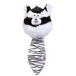 View Image 1 of Zanies Funny Furry Fatties Dog Toy -  Skunk