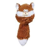 View Image 1 of Zanies Funny Furry Fatties Dog Toy -  Squirrel