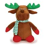View Image 1 of Zanies Holiday Friends Dog Toy - Reindeer