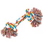View Image 1 of Zanies Knotted Rope Bones Dog Toy