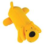 View Image 1 of Zanies Neon Big Yelpers Dog Toy - Sunny Yellow
