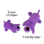 View Image 2 of Zanies Neon Yelpers Dog Toy - Purple