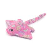 View Image 1 of Zanies Sea Charmers Dog Toy - Pink Stingray