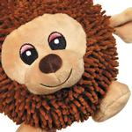 View Image 2 of Zanies Silly Shaggies Dog Toy - Bear