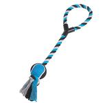 View Image 1 of Zanies Tennis Toss Dog Toy - Blue