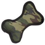 View Image 1 of Zanies Toughstructable Camo Dog Bone - Green