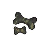 View Image 2 of Zanies Toughstructable Camo Dog Bone - Green