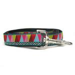 View Image 3 of Santa Fe Dog Collar and Leash Set by Diva Dog