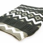 View Image 5 of Zigzag Dog Sweater by Dogo - Gray