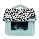 View Image 1 of Zinnia House Dog Bed by Pinkaholic - Navy