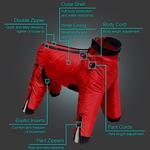 View Image 4 of Zippy Dynamics Classy Full-Body Dog Suit