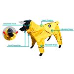 View Image 2 of Zippy Dynamics Rainy Full-Body Dog Rainsuit